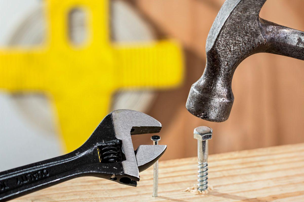 Tools and nails